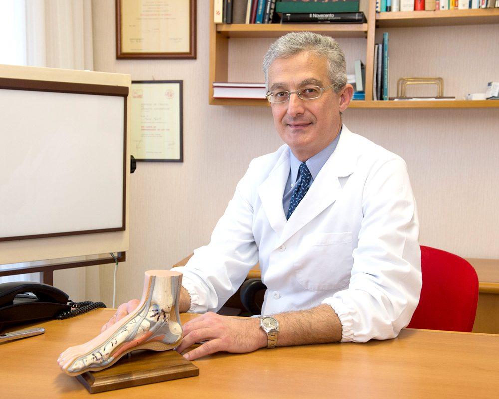 Dottor Attilio Basile, specialista Patologie piede e caviglia