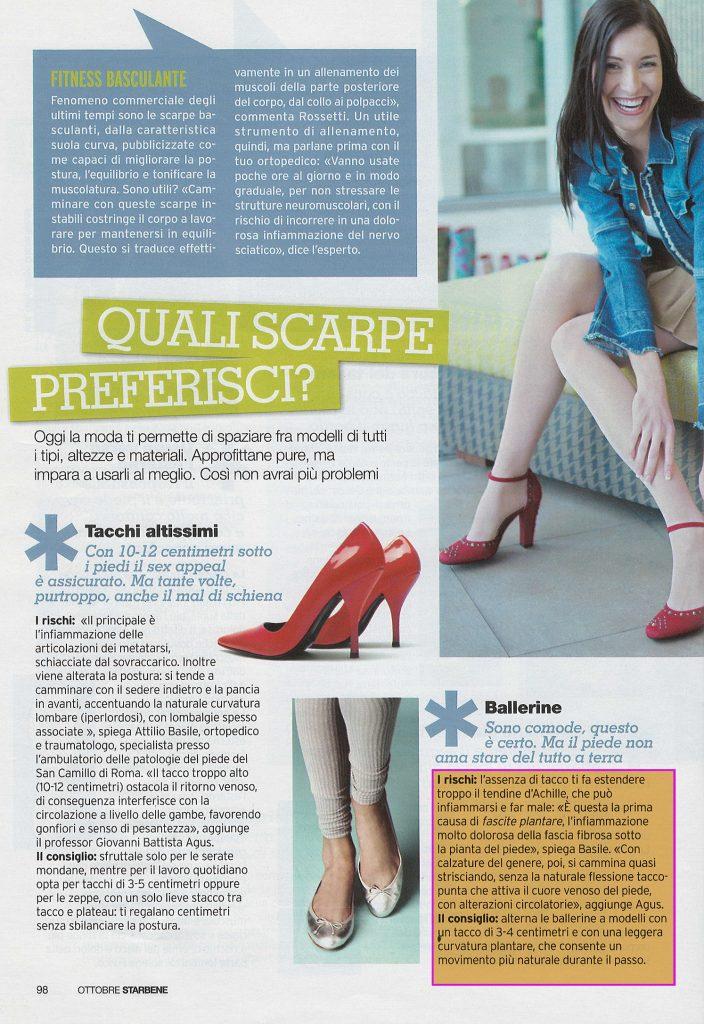Quali scarpe preferisci - Intervista Dottor Attilio Basile
